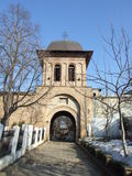 Marcuta Monastery bell tower Royalty Free Stock Photography