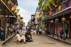 Mard Gras Новый Орлеан Стоковые Изображения RF