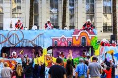 Mard Gras New Orleans Royaltyfri Bild