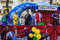 Mard Gras New Orleans Royaltyfri Foto