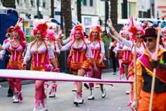 Mard Gras New Orleans Royaltyfria Bilder