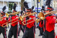 Mard Gras New Orleans Arkivfoton