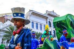 Mard Gras New Orleans Royalty-vrije Stock Fotografie