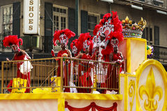 Mard Gras New Orleans Stock Photo