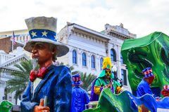 Mard Gras New Orleans Royalty Free Stock Photography