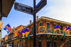 Mard Gras Nowy Orlean Zdjęcie Stock
