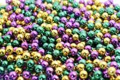 mardi gras χαντρών Στοκ Εικόνα