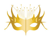 Mardi Gras. Masquerade Party Mask, vector file easy to edit Stock Images