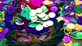 Mardi Gras stock video