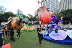 Mardi Gras Arts dans l'événement de parc en Hong Kong Images libres de droits