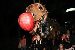 Mardi Gras Arts dans l'événement de parc en Hong Kong Photos libres de droits