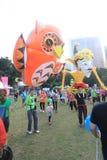 Mardi Gras Arts in de Parkgebeurtenis in Hong Kong 2015 Royalty-vrije Stock Foto