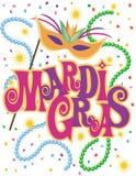 Mardi Gras Background Stock Image