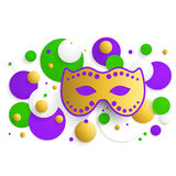 Mardi gras background Royalty Free Stock Images
