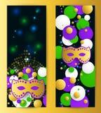 Mardi gras background Stock Images