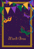 Mardi gras royalty free illustration