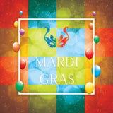 Mardi Gras background Royalty Free Stock Photo