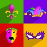 Mardi Gras background Royalty Free Stock Image