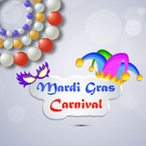 Mardi Gras background Stock Photography