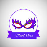 Mardi Gras background Royalty Free Stock Photography