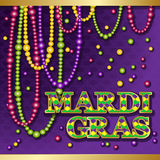 Mardi Gras background. royalty free illustration