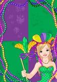 Mardi Gras Banner Royalty Free Stock Image