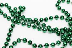 Mardi Gras Bead Necklace arkivfoton