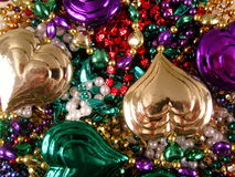Mardi Gras Beads 13 Royalty Free Stock Photo