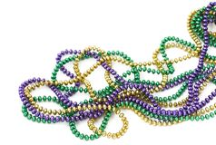 Free Mardi Gras Beads Stock Images - 492034