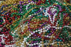 Mardi Gras Beads. Mardit Fras beads all piled up Stock Images