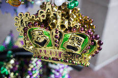 Mardi Gras Beads Royalty Free Stock Images