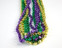 Mardi Gras Beads Royalty Free Stock Image