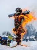 Mardi Gras beröm Arkivfoton