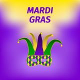 Mardi gras brochure. royalty free illustration