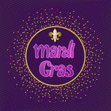 Mardi gras carnival party design vector illustration
