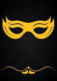 Mardi Gras Carnivale Mask Royaltyfri Fotografi