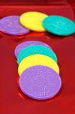 Mardi Gras Coins Royalty Free Stock Photography