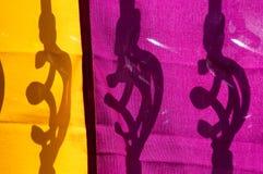 Mardi Gras Colors Imagen de archivo