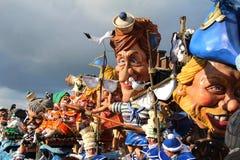 Mardi Gras Crazy Faces Royalty Free Stock Photo