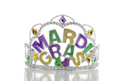 Mardi Gras Crown Stock Photos
