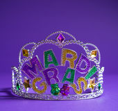 Mardi Gras crown decoration Royalty Free Stock Image