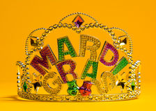 Mardi Gras crown decoration Stock Image