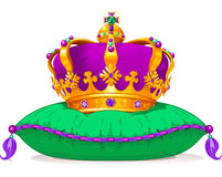 Mardi Gras crown Royalty Free Stock Photos