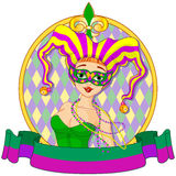 Mardi Gras Design royalty illustrazione gratis