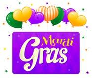 Mardi Gras design element Stock Images