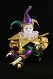 Mardi Gras Doll royalty free stock photography