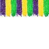 Mardi Gras dot background Stock Photography