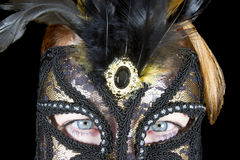 Mardi Gras Eyes Stock Image