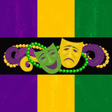 Mardi Gras-Feier Stockfoto
