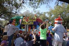Mardi Gras Float stockfotos